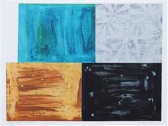 Abstract art,Non-representational art,Modern  art,acrylic painting,Departure ll