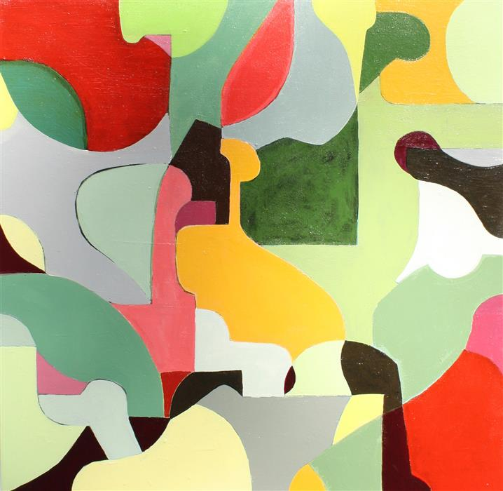 Original art for sale at UGallery.com | Fruit Salad by SCOTT TROXEL | $600 | Acrylic painting | 24' h x 24' w | http://www.ugallery.com/acrylic-painting-fruit-salad