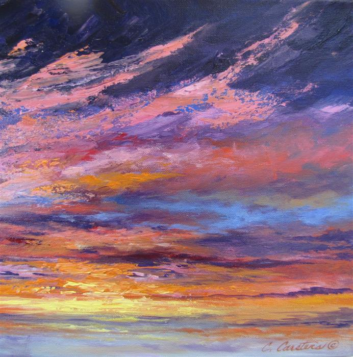 Original art for sale at UGallery.com | Royal Memories by CYNDY CARSTENS | $450 | Oil painting | 12' h x 12' w | http://www.ugallery.com/oil-painting-royal-memories