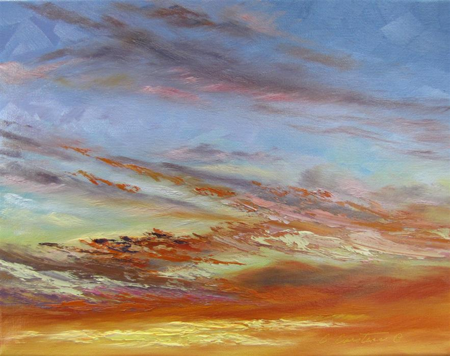 Original art for sale at UGallery.com | Magic Moments by CYNDY CARSTENS | $500 | Oil painting | 11' h x 14' w | http://www.ugallery.com/oil-painting-magic-moments