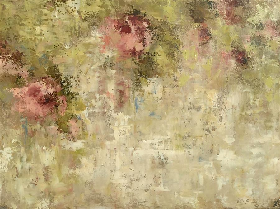 Original art for sale at UGallery.com | Pink Secrets Left by FAITH TAYLOR | $900 | Oil painting | 22' h x 30' w | http://www.ugallery.com/oil-painting-pink-secrets-left