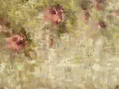 Abstract art,Flora art,Non-representational art,oil painting,Pink Secrets Left
