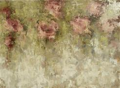 Abstract art,Flora art,Representational art,oil painting,Pink Secrets Right