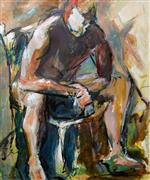 Expressionism art,Nudes art,People art,Representational art,acrylic painting,Decision
