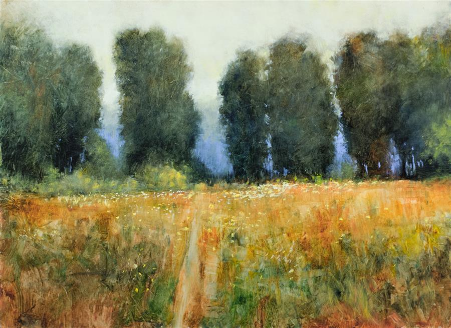 Original art for sale at UGallery.com | Summer Afternoon Color by DON BISHOP | $1,475 | Oil painting | 18' h x 24' w | http://www.ugallery.com/oil-painting-summer-afternoon-color