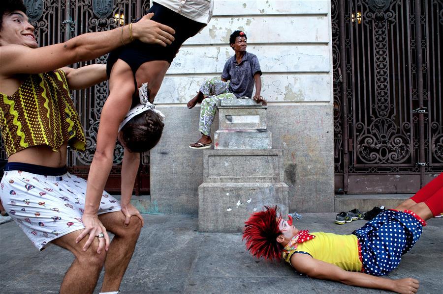 Discover Original Art by Marcelo Argolo | Clowns Presentation, Rio de Janeiro. photography | Art for Sale Online at UGallery