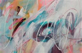 Abstract art,Non-representational art,Modern  art,acrylic painting,Igzeedoodle