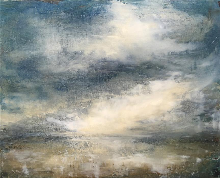 Original art for sale at UGallery.com | Nightfall by FAITH TAYLOR | $675 | Oil painting | 16' h x 20' w | http://www.ugallery.com/oil-painting-nightfall