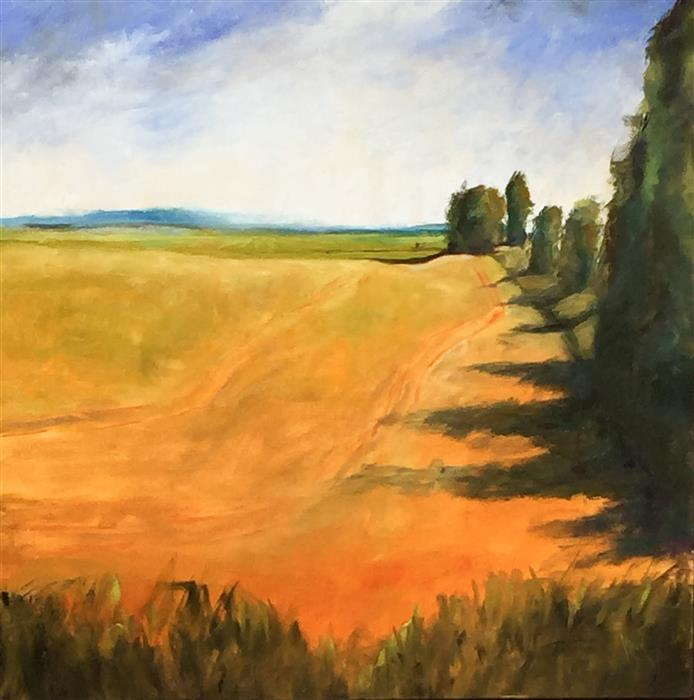 Discover Original Art by Mandy Main   Dynamic Greens oil painting   Art for Sale Online at UGallery