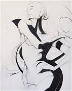 Expressionism art,Nudes art,Representational art,oil painting,Torero
