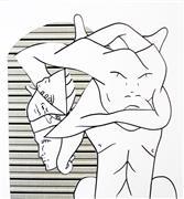 Surrealism art,Representational art,ink artwork,Tin Ghost