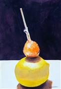 Pop art,Still Life art,Cuisine art,Representational art,watercolor painting,Sweet & Sour