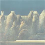 Landscape art,Surrealism art,Representational art,Modern  art,printmaking,Trulli Canyon