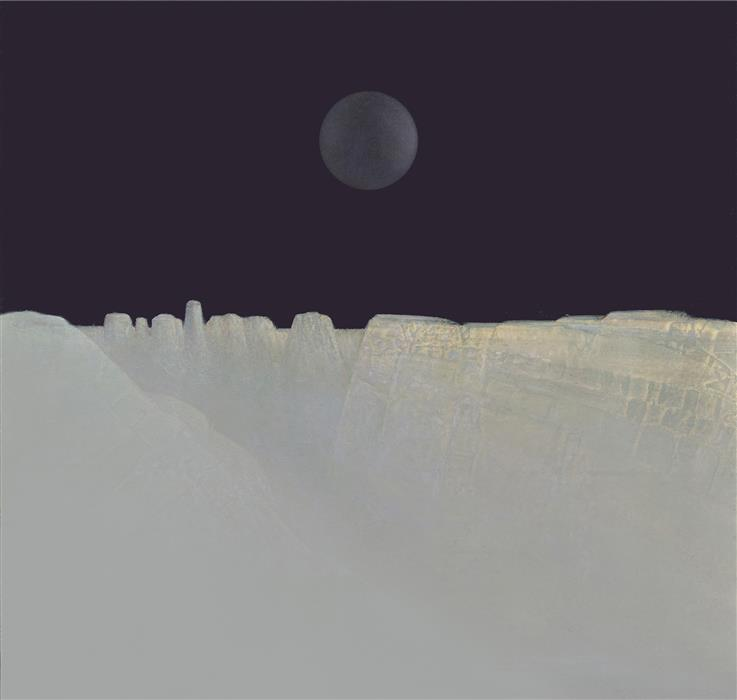 Discover Original Art by Shao Yuan Zhang | Moon Canyon printmaking | Art for Sale Online at UGallery