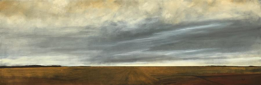Discover Original Art by Mandy Main | Expanse oil painting | Art for Sale Online at UGallery