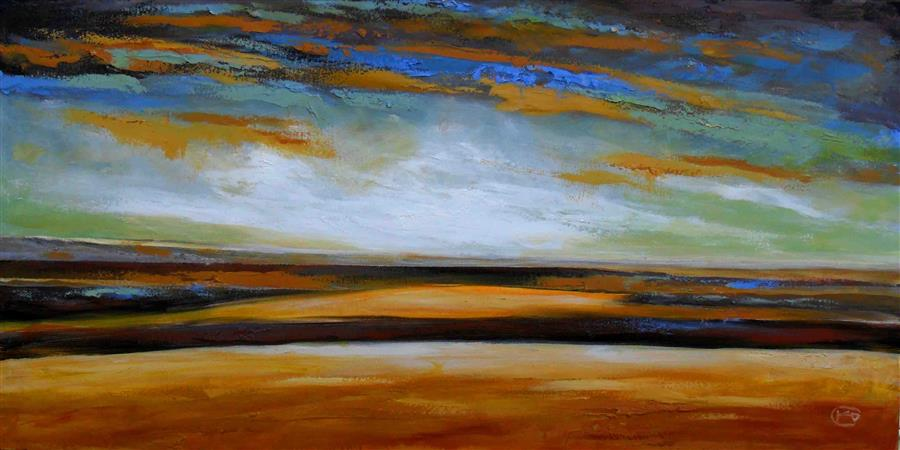 Discover Original Art by Kip Decker   Across the Land acrylic painting   Art for Sale Online at UGallery