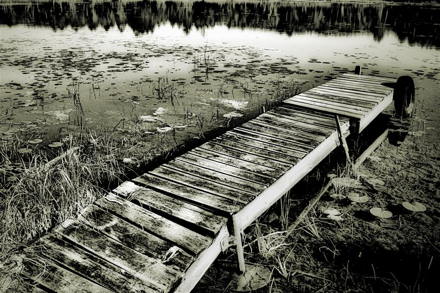 Discover Original Art by Gregg Otteson | Quiet Stop photography | Art for Sale Online at UGallery