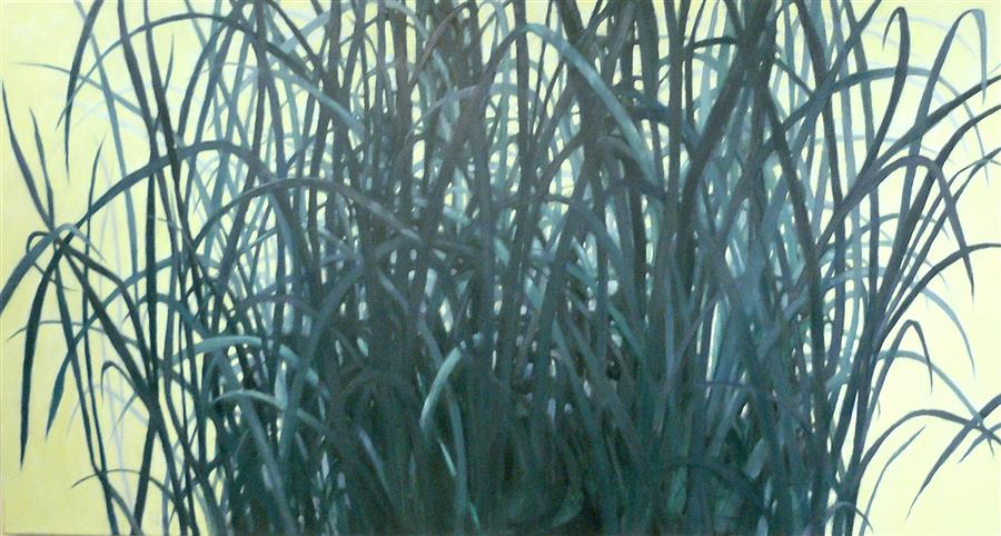 Original art for sale at UGallery.com | Bunch - Spring by NANCI ERSKINE | $3,550 | Oil painting | 32' h x 60' w | http://www.ugallery.com/oil-painting-bunch-spring
