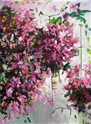 Expressionism art,Flora art,Representational art,acrylic painting,Azaleas