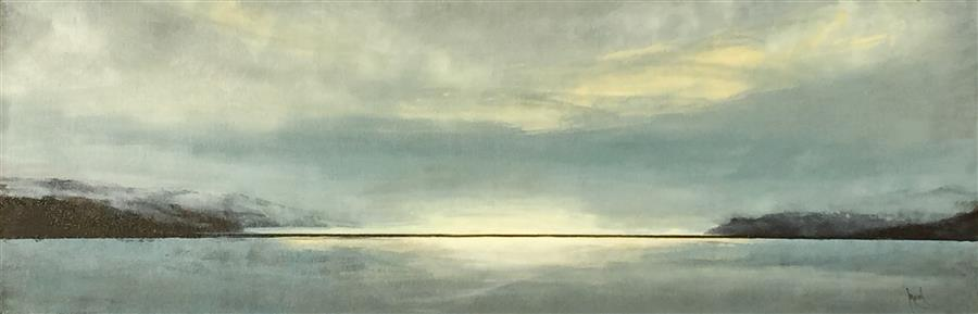 Discover Original Art by Mandy Main   The Far North III oil painting   Art for Sale Online at UGallery