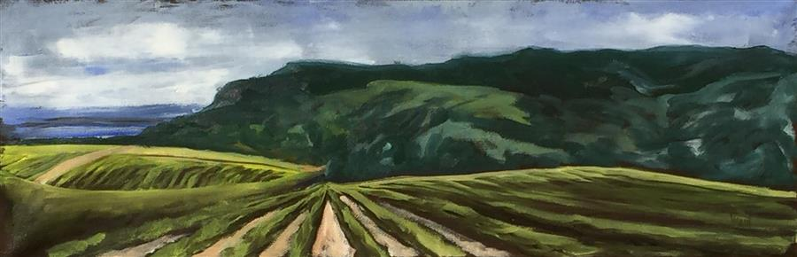 Discover Original Art by Mandy Main   Wine Country VI oil painting   Art for Sale Online at UGallery