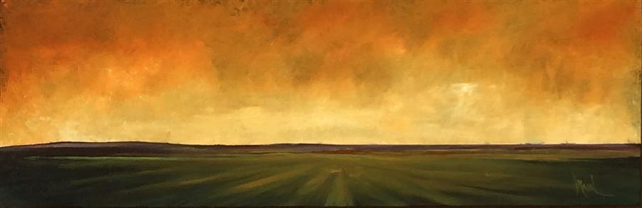 Discover Original Art by Mandy Main | Field XIX oil painting | Art for Sale Online at UGallery