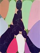 Abstract art,Non-representational art,Modern  art,mixed media artwork,Secret Language