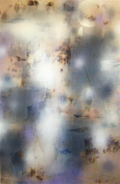 Original art for sale at UGallery.com | Turbulences 13 by MÉLISA TAYLOR | $8,575 | Acrylic painting | 70' h x 47' w | http://www.ugallery.com/acrylic-painting-turbulences-13