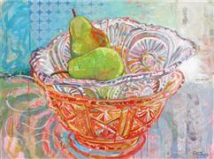 Impressionism art,Still Life art,Cuisine art,Representational art,mixed media artwork,Still Life with Glass Snake