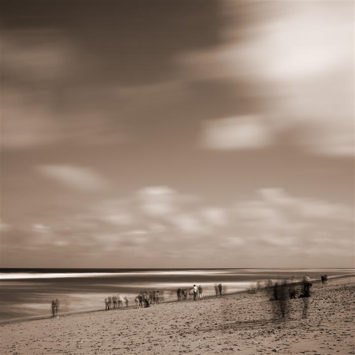 Original art for sale at UGallery.com | Beachcombers by ADRIAN DAVIS | $285 |  | ' h x ' w | http://www.ugallery.com/photography-beachcombers