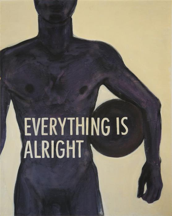 Original art for sale at UGallery.com | Everything Is Alright by MAURO CARICHINI | $1,000 | Acrylic painting | 30' h x 24' w | http://www.ugallery.com/acrylic-painting-everything-is-alright