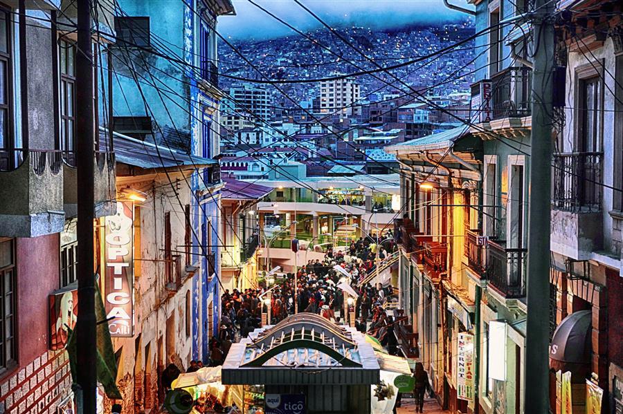 Original art for sale at UGallery.com | La Paz by MARIA PLOTNIKOVA | $145 |  | ' h x ' w | http://www.ugallery.com/photography-la-paz