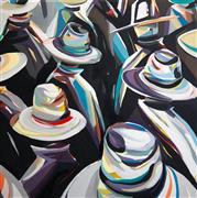 People art,Pop art,Fashion art,Representational art,Modern  art,oil painting,Submerged