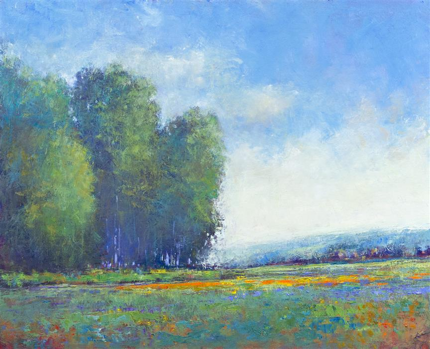 Original art for sale at UGallery.com | Sunny Afternoon by DON BISHOP | $1,275 | Oil painting | 16' h x 20' w | http://www.ugallery.com/oil-painting-sunny-afternoon