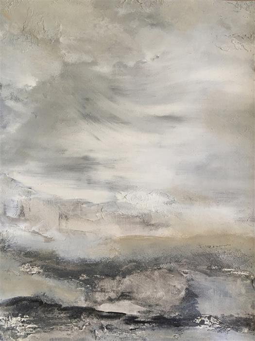 Original art for sale at UGallery.com | Oneness I by MICHELE MORATA | $675 | Oil painting | 24' h x 18' w | http://www.ugallery.com/oil-painting-oneness-i