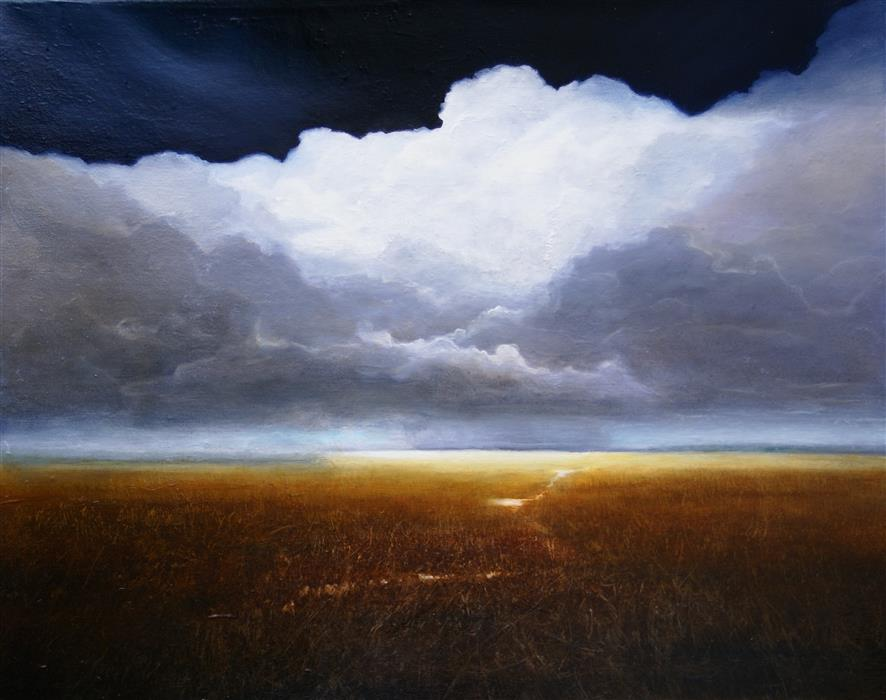 Original art for sale at UGallery.com | Outward Bound by ELIZABETH AGRESTA | $1,900 | Oil painting | 30' h x 36' w | http://www.ugallery.com/oil-painting-outward-bound-44471