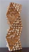 Abstract art,Architecture art,Non-representational art,Modern  art,sculpture,Triangular Planes: Octahedra Tower