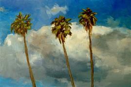 Impressionism art,Nature art,Travel art,Representational art,oil painting,Hollywood Sky