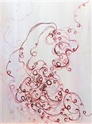 Abstract art,Non-representational art,Modern  art,acrylic painting,Tumble