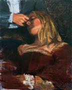 Expressionism art,People art,Classical art,Fashion art,Representational art,oil painting,Leavetaking