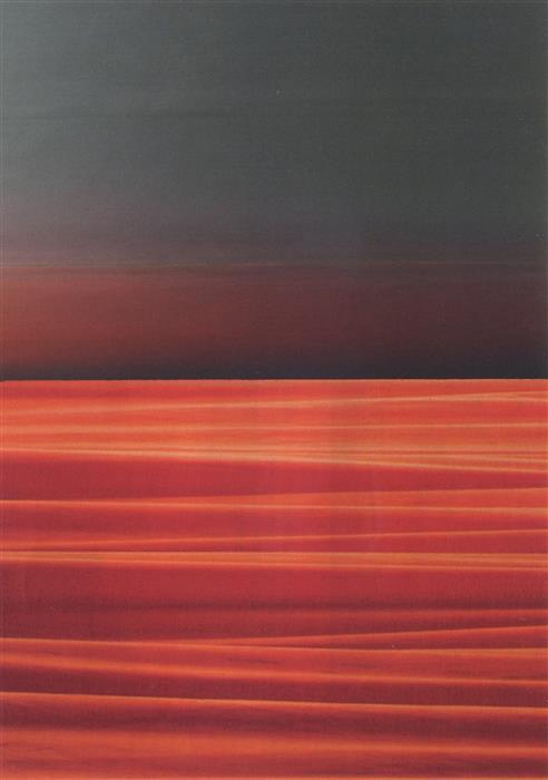 Original art for sale at UGallery.com | Landscape (Desert) by DAVID LAVINE | $300 | Mixed media artwork | 7' h x 5' w | http://www.ugallery.com/mixed-media-artwork-landscape-desert