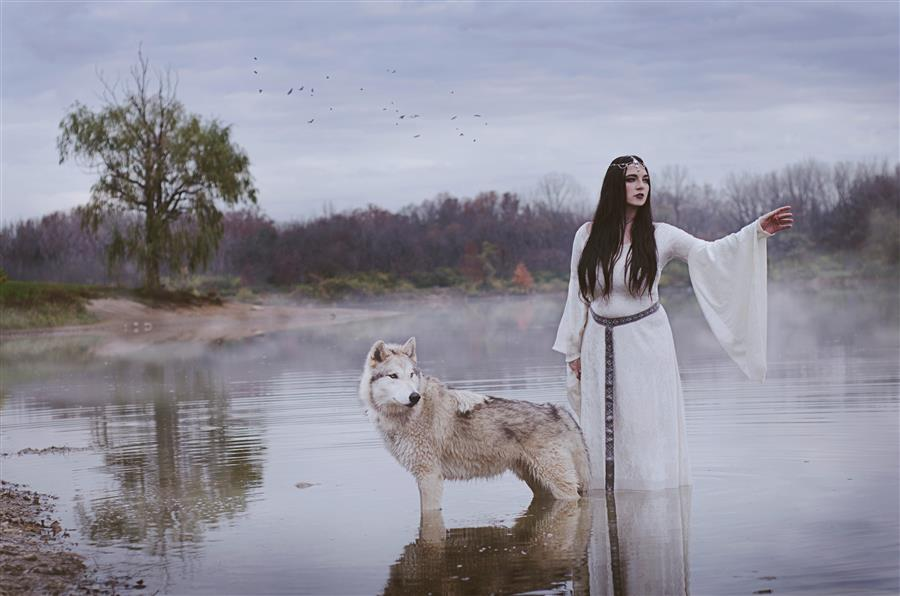 Original art for sale at UGallery.com | Lady of the Lake by RACHEL LAUREN | $170 |  | ' h x ' w | http://www.ugallery.com/photography-lady-of-the-lake