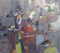 Abstract art,Non-representational art,acrylic painting,Explosion