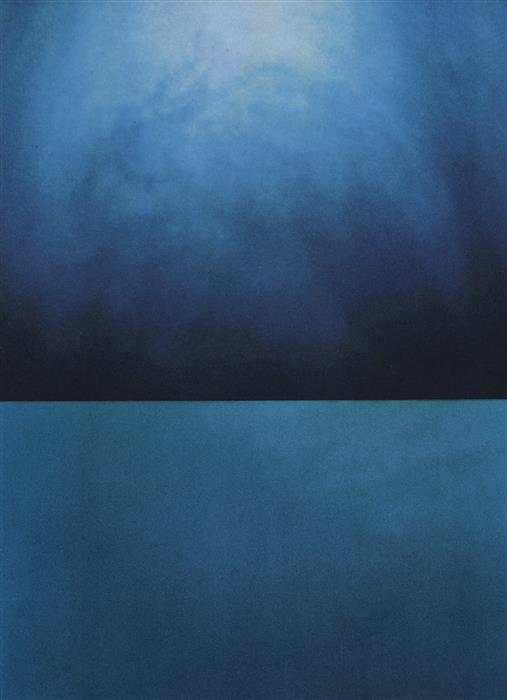 Discover Original Art by David Lavine | Landscape (Ice 3) mixed media artwork | Art for Sale Online at UGallery