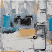 Abstract art,Non-representational art,Modern  art,mixed media artwork,My Renovation One
