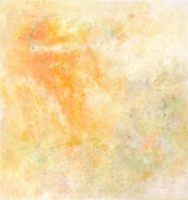 Original art for sale at UGallery.com | Sunrise: Italy by KAREN HANSEN | $2,675 | Acrylic painting | 34' h x 32' w | http://www.ugallery.com/acrylic-painting-sunrise-italy