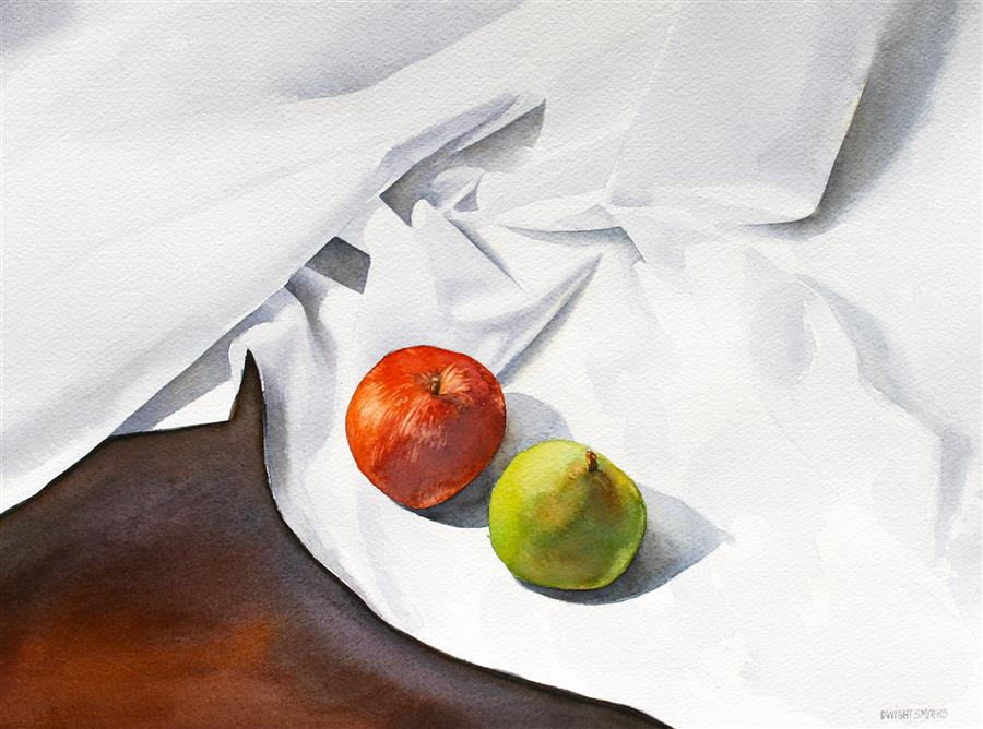Discover Original Art by Dwight Smith | The Pair watercolor painting | Art for Sale Online at UGallery