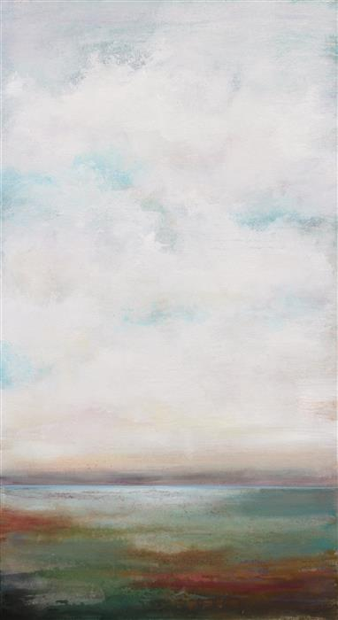 Original art for sale at UGallery.com | Open Vista by KAREN HALE | $2,075 | Acrylic painting | 40' h x 22' w | http://www.ugallery.com/acrylic-painting-open-vista