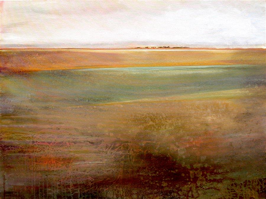 Original art for sale at UGallery.com | Take It All In by KAREN HALE | $2,575 | Acrylic painting | 30' h x 40' w | http://www.ugallery.com/acrylic-painting-take-it-all-in
