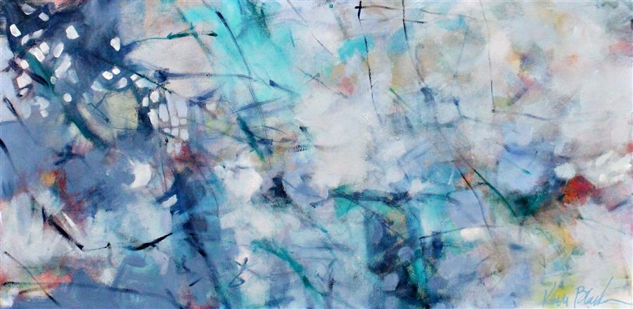 Discover Original Art by Kerri  Blackman | Whisper acrylic painting | Art for Sale Online at UGallery